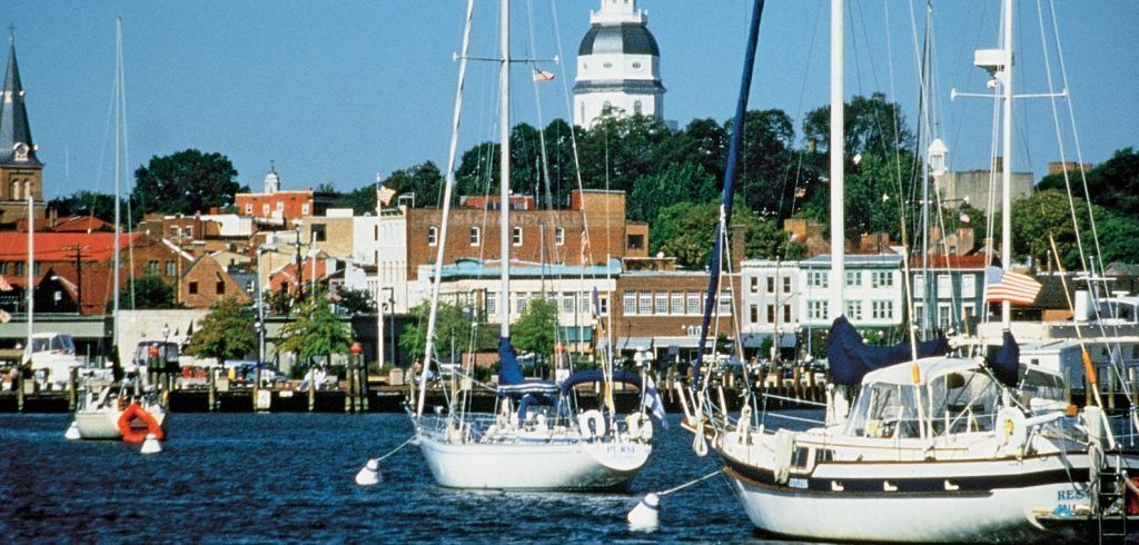 Yachts rental in Annapolis